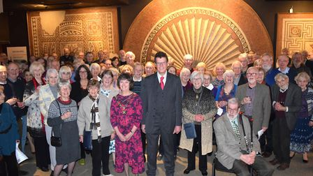 St Albans and Hertfordshire Architectural and Archaeological Society launched its 175th anniversary.