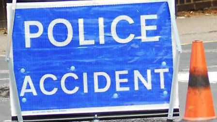 A crash between J25 and J24 on the M25 is causing traffic delays this evening. Picture: Archant