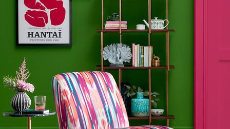 On trend: John Lewis' New Eclectics look - Lounge Chair - Ampana Print, £499. Other items, from a se