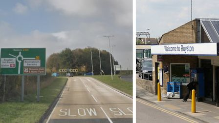 Improvements to the A505 and Royston station are referenced in the North Central Growth and Transpor