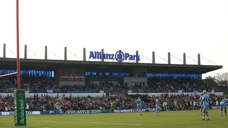 Saracens will be automatically relegated at the end of the Gallagher Premiership rugby season. Pictu