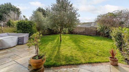 The property boasts a sunny, west-facing garden. Picture: Fine & Country