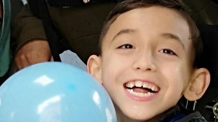Matheus Serrano Moranza, aged eight, are trying to raise £20,000 so that he can undertake an Intensi