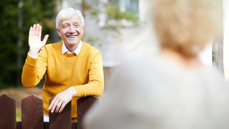 Getting to know your neighbours can be good for your mental health. Picture: Getty Images/iStockphot