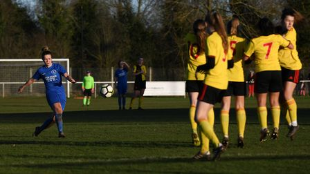 Colney Heath Ladies suffered a late 2-1 loss to Watford U23 in the semi-final of the Herts County Cu