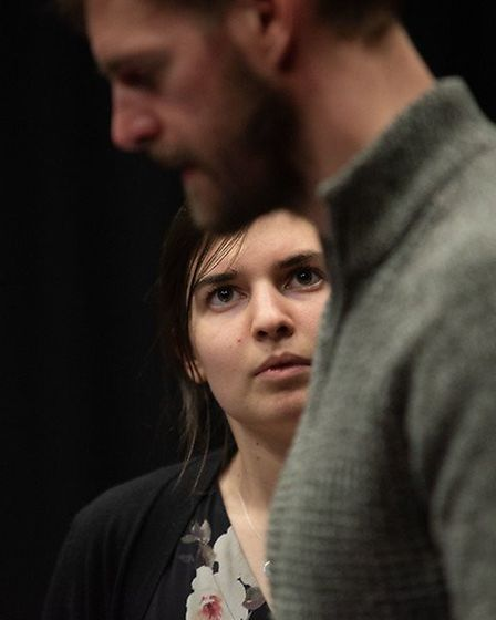 Company of Ten's production of Alligators plays at the Abbey Theatre Studio in St Albans. Picture: A