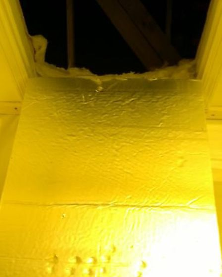 The cannabis was found at a property in Little Paxton.