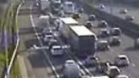 M1 crash: A multi-vehicle collision between J6a for the M25 and Junction 6 for St Albans shut the mo