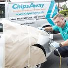 With mobile car repairs, technicians can fix your car anywhere. Photo: ChipsAway International Ltd