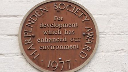 The Harpenden Society has opened its awards to all residents, rather than just society members. Pict