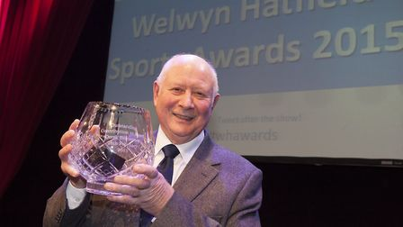 Hatfield-based Derek Beaumont has been honoured with a lifetime service award from Swim England.