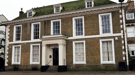 Wykeham House is a Grade II Listed building on the Market Square in Huntingdon