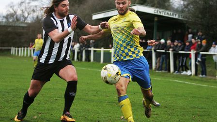 Harpenden Town and Colney Heath meet again on the back of two very different 1-0 results. Picture: K