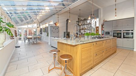 The property boasts an open plan kitchen, breakfast, dining and family room. Picture: Fine & Country
