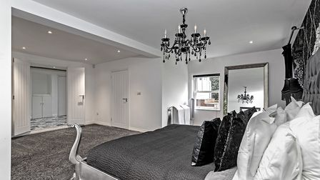 The palatial master bedroom suite. Picture: Fine & Country