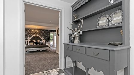The inner hall leading to the master bedroom. Picture: Fine & Country
