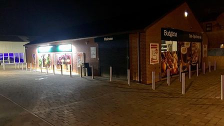 The new Budgens store in Offord.