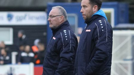 St Albans City manager Ian Allinson and assistant Chris Winton will now have company on the bench an