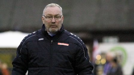 St Albans City manager Ian Allinson. Picture: JIM STANDEN