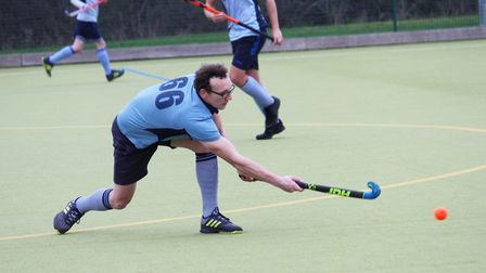 Rob Hoye hit the first St Neots 1sts goal in their 3-3 draw with Bourne Deeping 2nds. Picture: OLI D