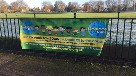 Clarence Play are working to renovated the children's playground in Clarence Park, St Albans. Pictur