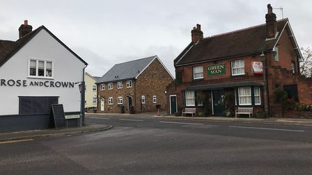 There are three pubs in the village. Picture: Archant