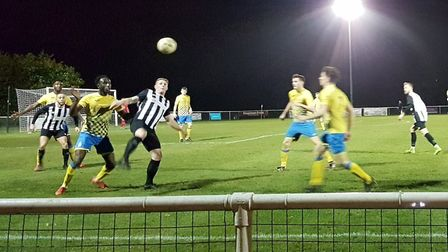 Colney Heath hosted Harpenden Town in a Spartan South Midlands League Premier Division match.