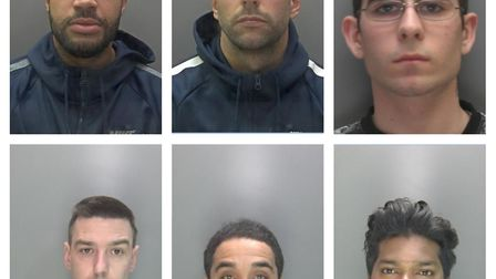 10 men were arrested for their involvement in a St Albans drug gang. Picture: Herts police