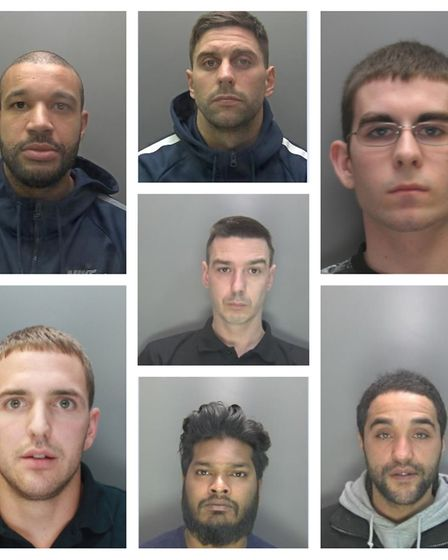 Ten men were arrested for their involvement in a St Albans drug gang. Picture: Herts police