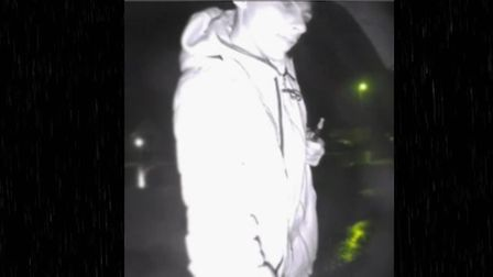 Police want to speak to this man in connection with burglary in Godmanchester. PICTURE: Ca