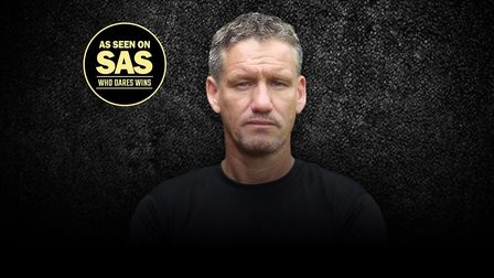 SAS hero Mark 'Billy' Billingham will be talking about his life and career at The Alban Arena in St