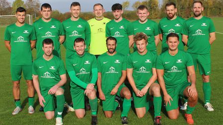 Blacksmiths of the Herts Ad Sunday League Premier Division, 2019-2020. Picture: BRIAN HUBBALL