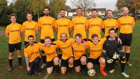 Marshalswick Rovers from Division Three of the Herts Ad Sunday League, 2019-2020. Picture: BRIAN HUB