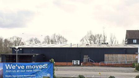 The homes will be situated at the old Vindis garage site off Low Road, Fenstanton PICTURE: A