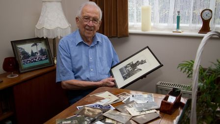 German POW, E.W.Peters at home in Devon - Peter is asking for anyone who has stories or pictures abo