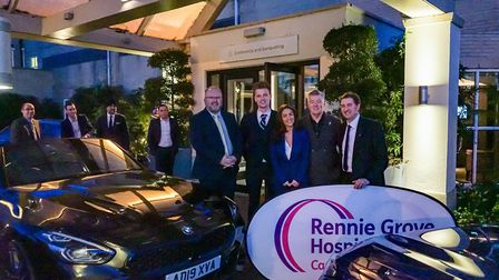 Rennie Grove Hospice Care's seventh Question of Sport charity dinner.