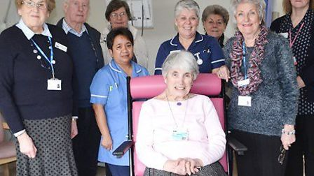 The Friends of Hinchingbrooke Hospital have donated wheelchairs
