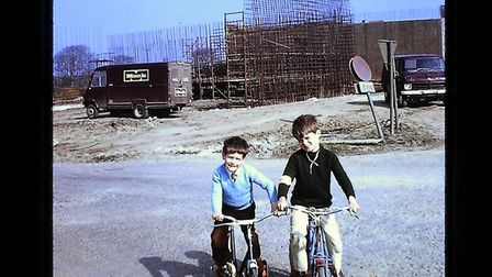 Andy and David York at Godmanchester in 1974