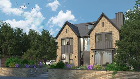 A planning application has been submitted for a proposed house approaching nearly 4,000sq ft. Pictur