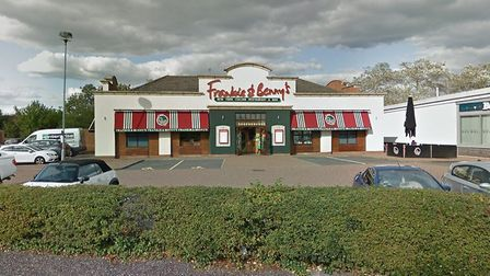 Frankie and Benny's in Huntingdon PICTURE: Google