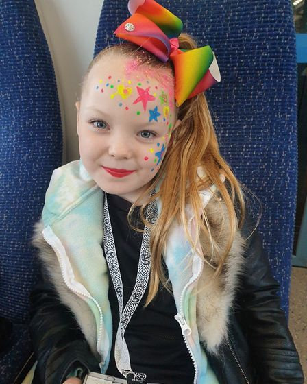 Brooke McCallion, from St Neots, has raised nearly double her target for two good causes.
