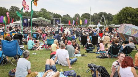 Sunday afternoon at Cambridge Folk Festival. Picture: CELIA BARTLETT PHOTOGRAPHY