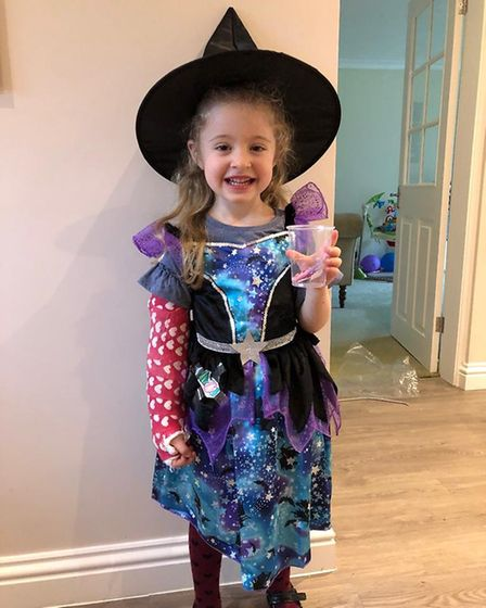 World Book Day 2020: Chloe Atkinson as the witch from Hansel and Gretel.
