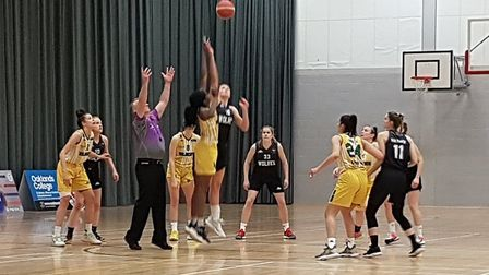 Oaklands Wolves took on Nottingham Wildcats in a WBBL game at the Sportszone.