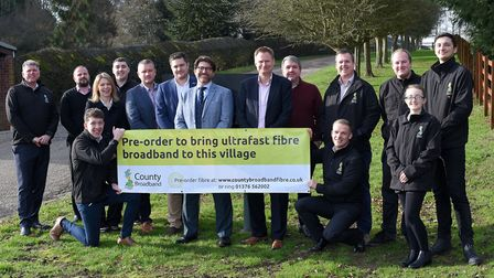 A 46 million investment is set to bring full-fibre broadband to Thriplow, Meldreth and Shepreth. Pic