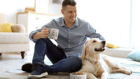 Dog Person Mug and Bowl Set by FRED, www.thedesigngiftshop.com £20.31