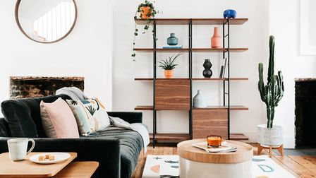 Lifting furniture, clutter and everyday objects up and away from the floor can easily create a light