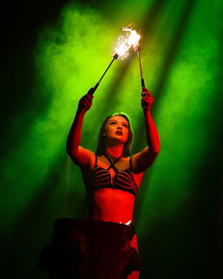 The Circus of Horrors 25th Anniversary Tour can be seen at The Alban Arena in St Albans