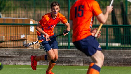 Luke Kennedy in action for St Albans Hockey Club. Picture: CHRIS HOBSON PHOTOGRAPHY