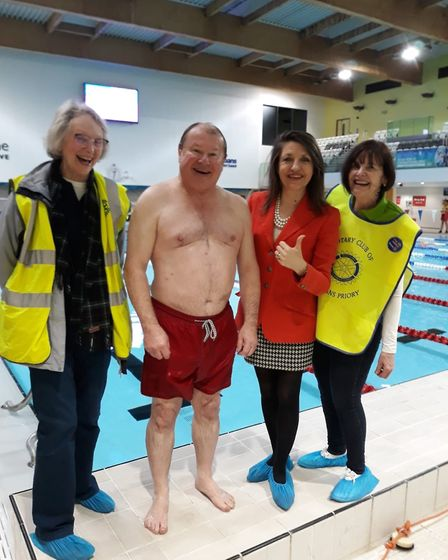 A Swimathon in St Albans at Westminster Lodge will raise money for Mind. Picture: Supplied